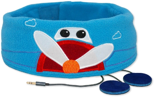 Snuggly Rascals Comfy Headband Head For Kids - Plane