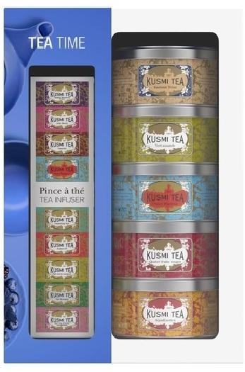 Kusmi Tea Tea Time Pack 5x25g 25G