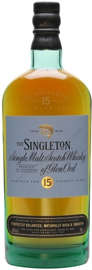 Singleton of Glen Ord 15 Years Old 1L