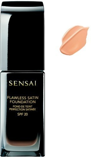 Sensai Flawless Satin Fluid Foundation NFS102 Ivory Beige 30ml