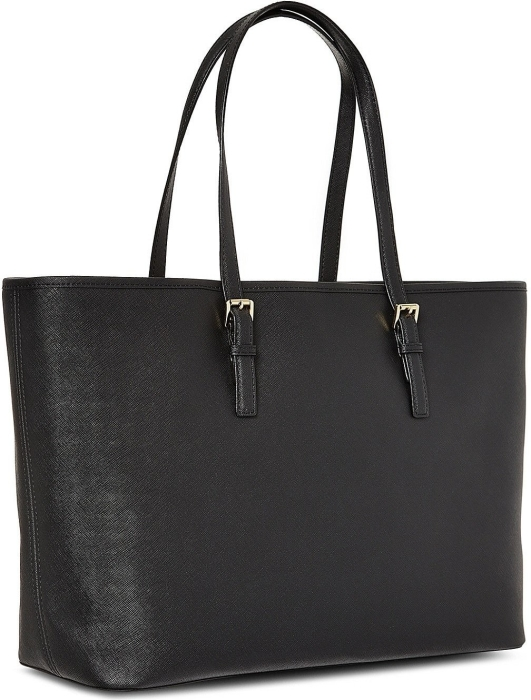 3ff7386dbe0d Michael Kors Jet Set Travel Saffiano Leather Top-Zip Tote in duty ...