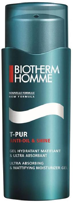 Biotherm Homme T-Pur Moisturizing Gel 50ml