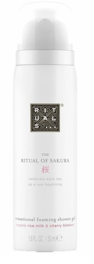 Rituals The Ritual of Sakura Foaming Shower Gel 50ml