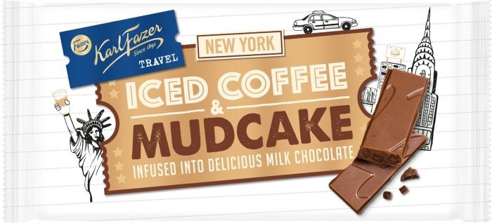 Fazer Travel New York Iced Coffee And Mudcake 130g