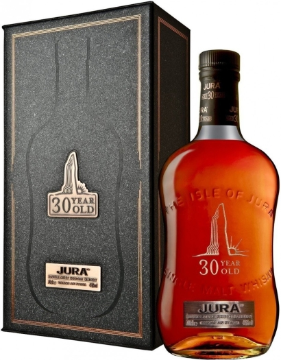 Isle of Jura 30 Year Old 44% Whiskey Gift Pack 0.7L