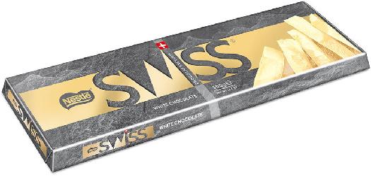Nestle Swiss White Tablet 300g