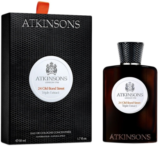 Atkinsons 24 Old Bond Street Triple Extract Eau de Cologne 50ml