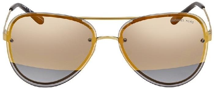 Michael Kors Women's sunglasses Gold Mirror