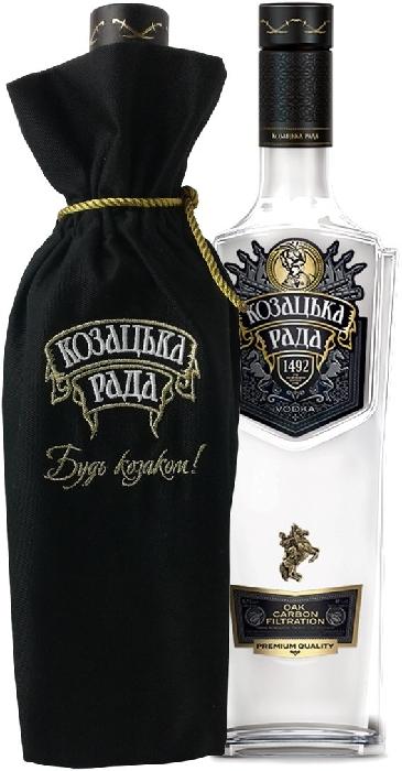Kozatska Rada Premium Vodka 0.7L