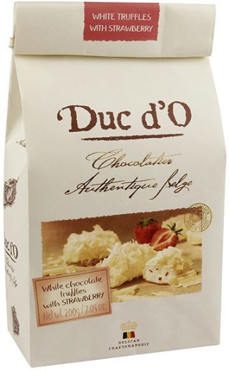Duc d'O White truffles with strawberry 200g