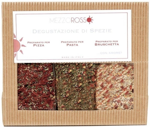Mezzorosso three taster selection of Spices 90g