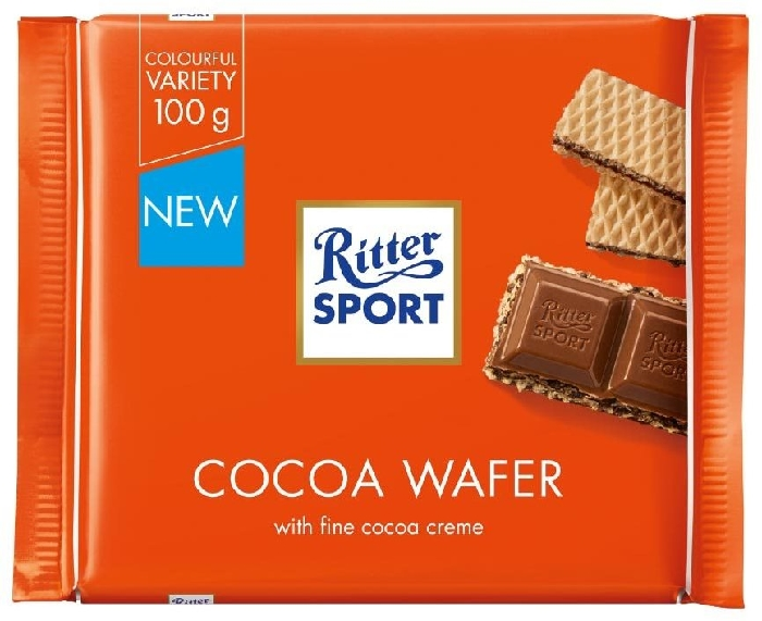 Ritter Sport Cacao Wafer 100g