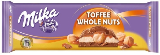 Milka Toffee Wholenuts Chocolate 300g