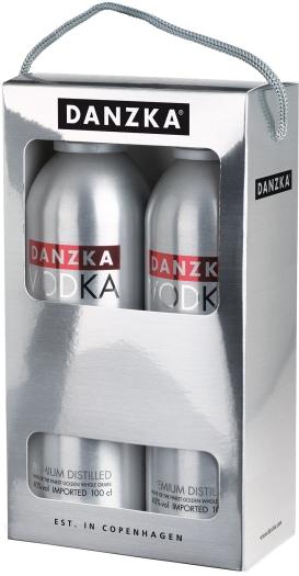 DANZKA Vodka Twinpack 40% 2x1L