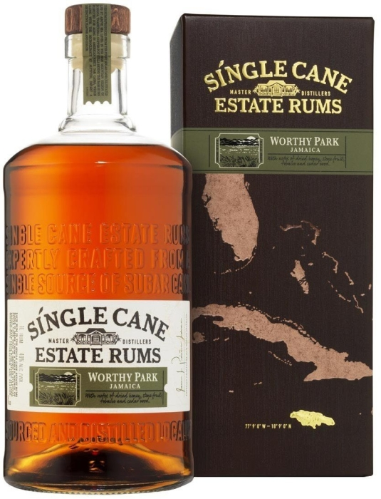 Single Cane Worthy Park 40% 1L