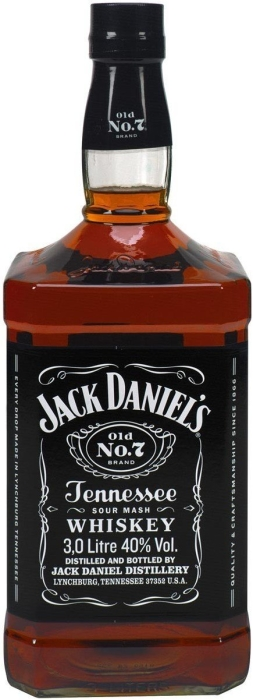 Jack Daniel's Black Label 3L