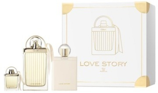 Chloe Love Story Set 75ml+100ml+7,5ml