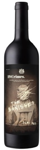 19 Crimes The Banished Dark Red 0.75L