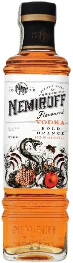 "Nemiroff ""Bold Orange"" De Luxe 40% 1L"