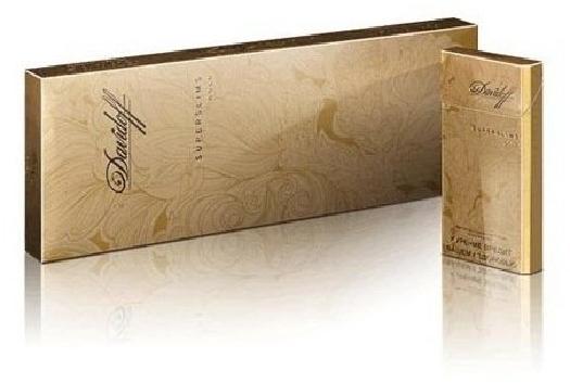 Davidoff Gold SSL 200s RUSP Carton