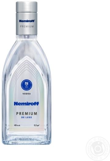 Nemiroff De LUXE 40% 0.5L