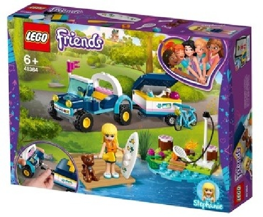 LEGO Friends, stephanie's buggy&trailer