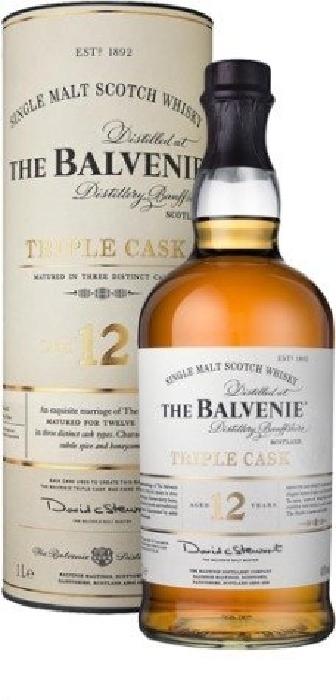 Balvenie Triple Cask 12y 40% 1L