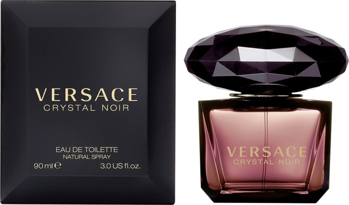 Versace Crystal Noir Edp 90ml In Duty Free At Store Type Airport