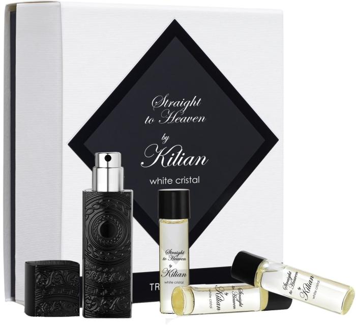 Kilian 'L'Oeuvre Noire Straight to Heaven white cristal set EdP
