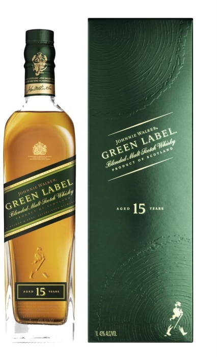 Johnnie Walker Green Label 1L