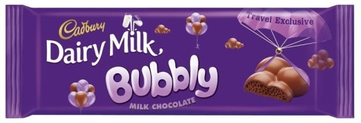 Cadbury Dairy Milk Bubbly 210g