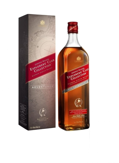 Johnnie Walker The Adventurer 40% Giftpack 1L