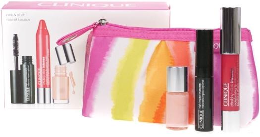Clinique Pink Plush Set