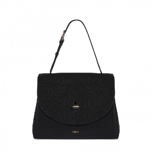 Furla Net Top Handle M Nero