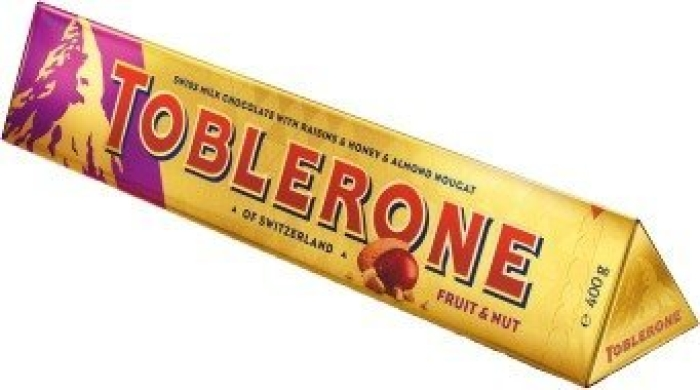 Toblerone Fruit&Nut 400g