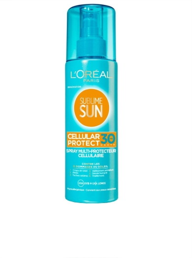 L'Oreal Paris Sublime Sun Cellular Protect Body Cream SPF 30 200ml