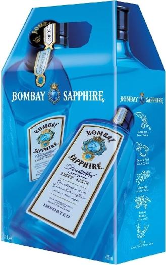 Bombay Sapphire 47% 2x1L Twinpack 2x1L