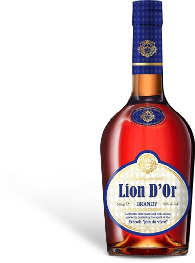 Lion D'Or Brandy 40% 1L