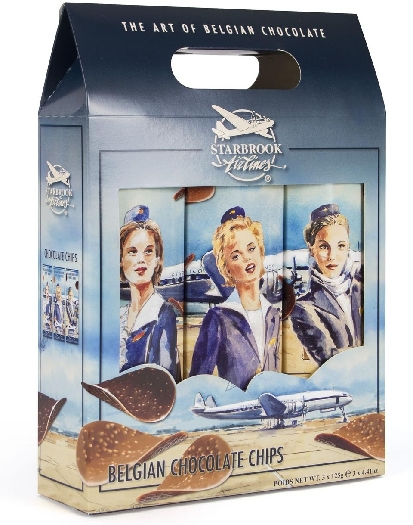 Starbrook Chocolate Chips Mixed Pack 3x125g