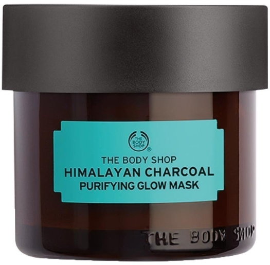 The Body Shop Remedies Of Nature Himalayan Charcoal Purifying Glow Mask 75ml
