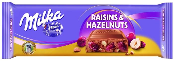 Milka Raisins&Hazelnuts 270g