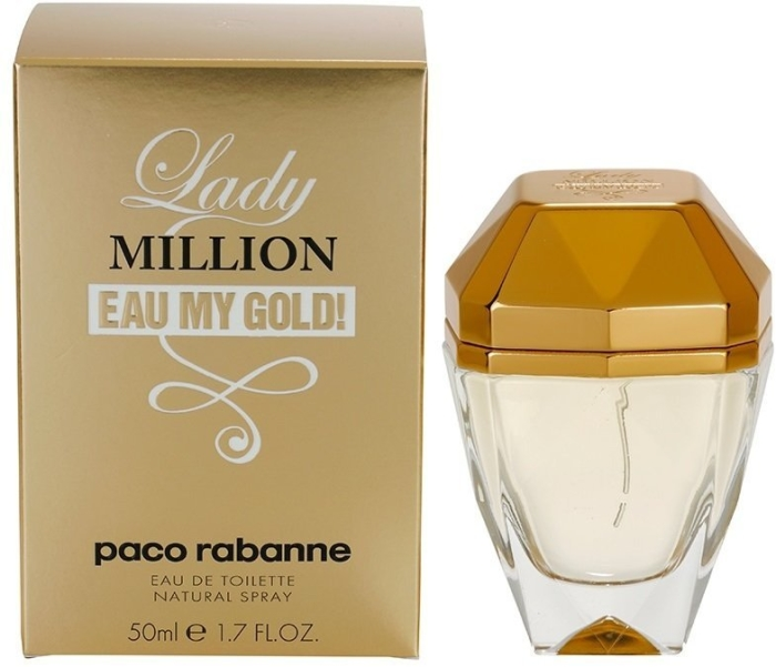 Paco Rabanne Lady Million L'Eau My Gold EdT 50ml