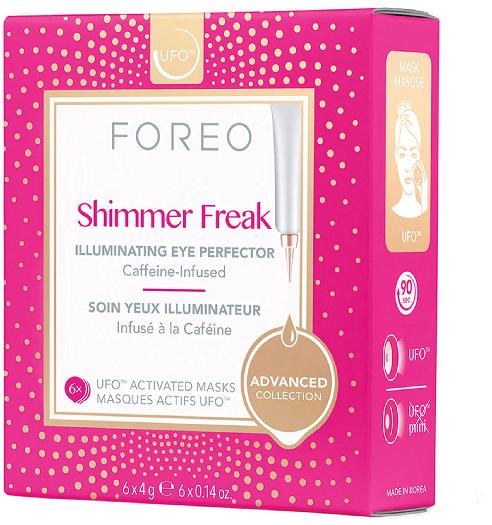 Foreo UFO Eye Masks Shimmer Freak x 6 refreshing