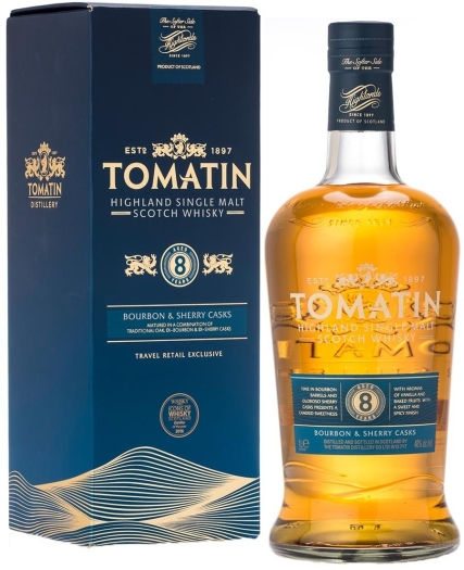 Tomatin 8yo 40% Whiskey 1L