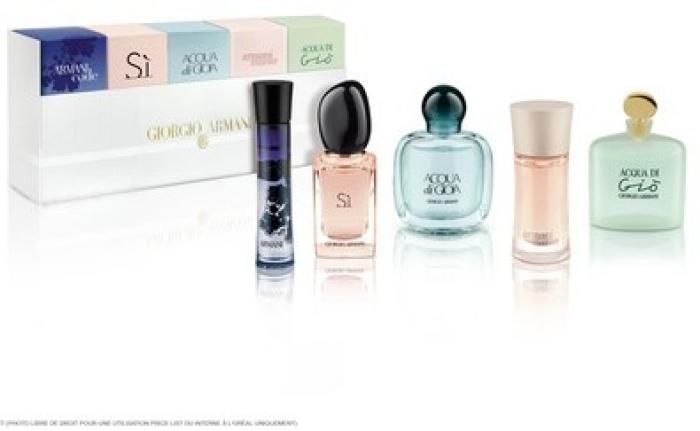 Perfume collection - Giorgio Armani Coffret