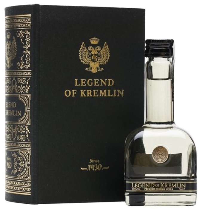 Legend of Kremlin Vodka 50ml