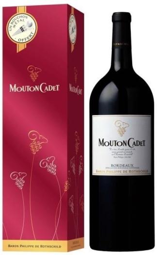 Baron Philippe de Rothschild Mouton Cadet Bordeaux AOC 1.5L