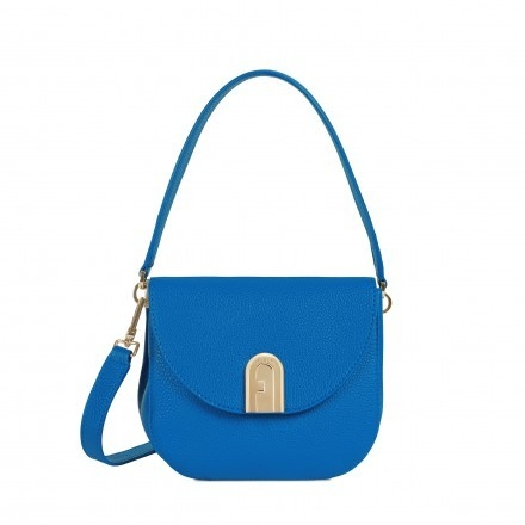 Furla Sleek Mini Crossbody Blu Klein f