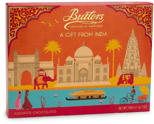 Butlers India Gift Selection 190g