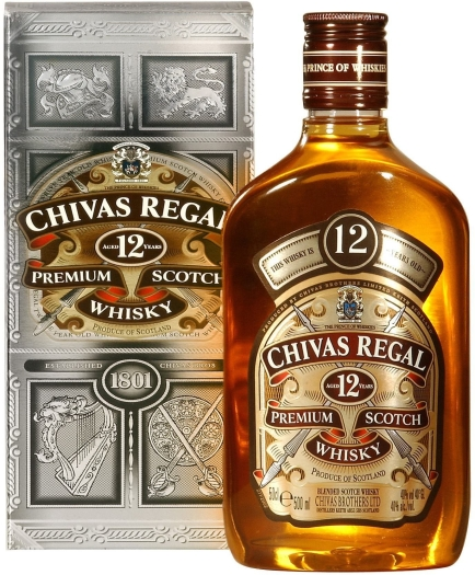Chivas Regal 12Y Flask 0.5L